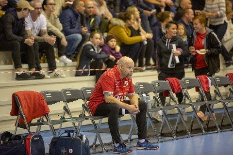 LEDIG PLASS: Christer Karlsson forlater etter denne sesongen FBK. Klubben er nå i ferd med å lande svenskens erstatter.