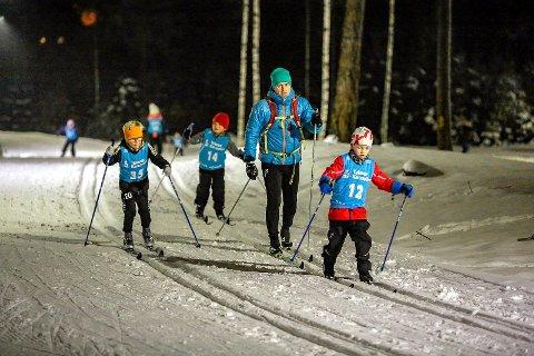 NY TEST: I kveld får byens håpefulle skigåere en ny mulighet til å teste ut bortoverskiene i Fredrikstad Skiarena.