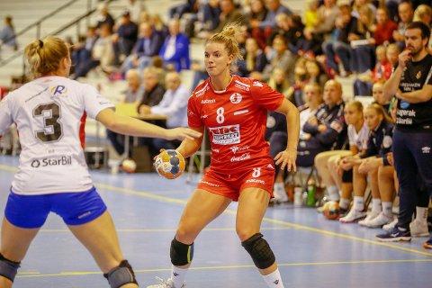 ØNSKET: Dorthe Groa er en av tre spillere Larvik ønkser å sikre seg underskriften til.