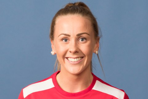 PÅ HUGGET: Karoline Syversen og FBK vant med sju mål mot Aker, som ligger på 2. plass i 1. divisjon.