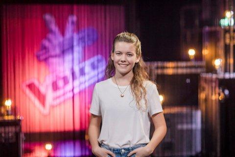 Synger på tv: Fredag kveld kan du se Amalie Hamborgstrøm i The Voice.