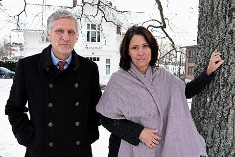 Går hardt ut: Advokatene Ane Sofie Tømmerås og Jørgen Klaveness tar et oppgjør med forbrukslånbransjen. De mener mange banker bryter loven på flere områder.