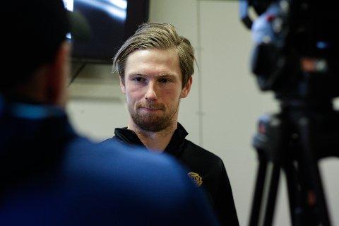 BLIR IKKE FFK-SPILLER: Thomas Drage trente med FFK, men kontrakt blir det ikke.