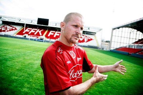 KLAR: Den gamle FFK-helten Kasey Wehrman er klubbens nye assisttrener.