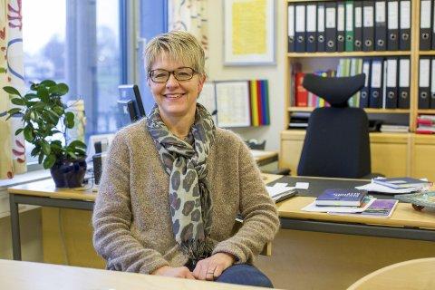 REKTOR: Vigdis Gjerberg (51) er rektor ved Askim videregående skole.
