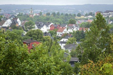 Eiendom Norge spår oppgang på 3 prosent i boligmarkedet neste år. Her utsikt fra Kringsjå.