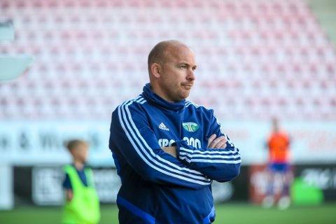 Tap: Bjørnar Johannessens Kråkerøy tapte 4-0 borte mot Aalesund 2 lørdag.