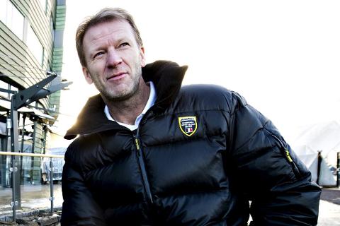 FØLGER STJERNEN: Rune Gulliksen har sett en rekke GET-ligakamper denne sesongen. Blant annet alle Sjernens matcher til nå.