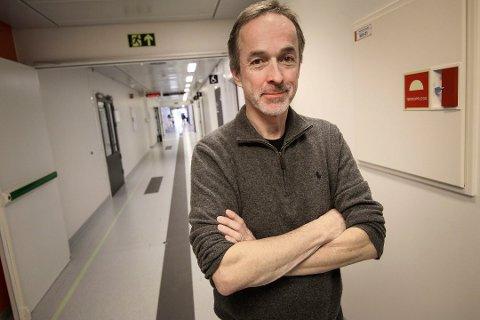 Blir rådgiver: Just Ebbesen gikk av som administrerende direktør i Sykehuset Østfold grunnet uro rundt sykehuset. Nå har han fått jobb som spesialrådgiver ved Oslo universitetssykehus (OUS).