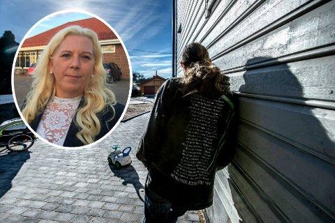 """«Knu» fra Gressvik er uten jobb og """"fattig"""". Nå vil Anita Vik hjelpe familien."""