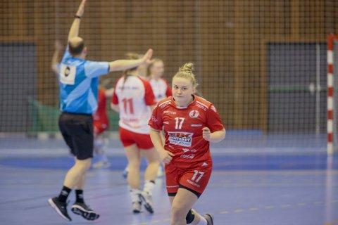 KOPIEN: Maja Muri ble sammenlignet med Heidi Løke etter onsdagens kamp.