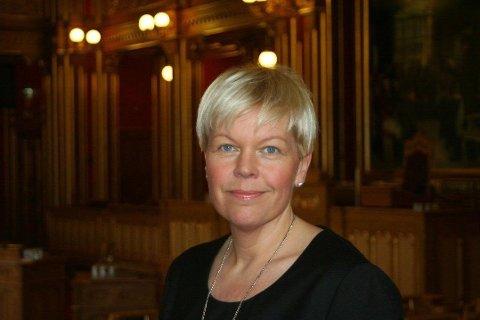 LEVERTE FALSKE REISEREGNINGER: Aftenposten avdekket at stortingsrepresentant Hege Haukeland Liadal (Ap) leverte reiseregninger for over 60.000 kroner, mens hun befant seg et annet sted enn det hun oppga. Foto: (Arbeiderpartiet)