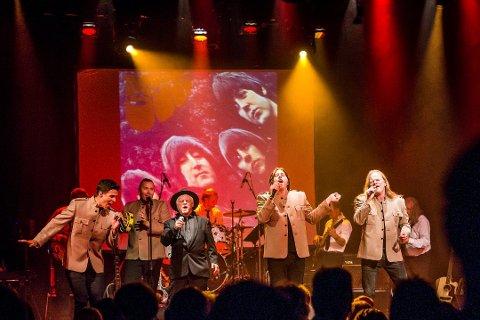 INGEN YOKO HER: Beatles samarbeidet i Fredrikstad endte på samme måte som i Liverpool Fifty Years Ago.