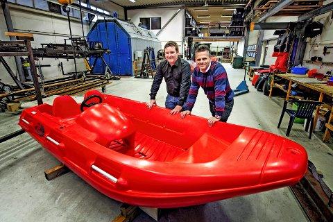 Nye eiere av River Boats.Reidar Gjølstad og Christoffer Haarbye