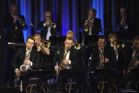 Fredrikstad storband inviterer til konserten  «Generations of jazz 2019».