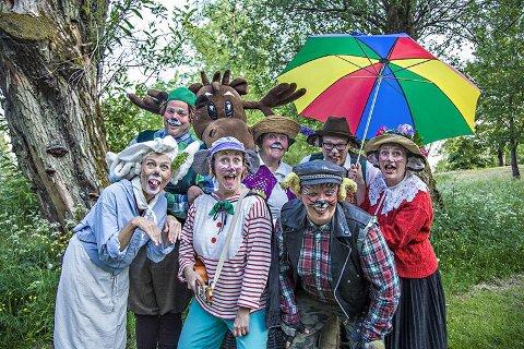 TEGNEKONKURRANSE: Seks heldige barn kan vinne to billetter hver til Hakkebakkeskogen-forestillingen  i Brattliparken.