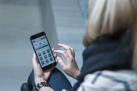 FEIL: Flere Dnb-kunder opplever en feil i disponibelt beløp på nettbanken onsdag morgen.