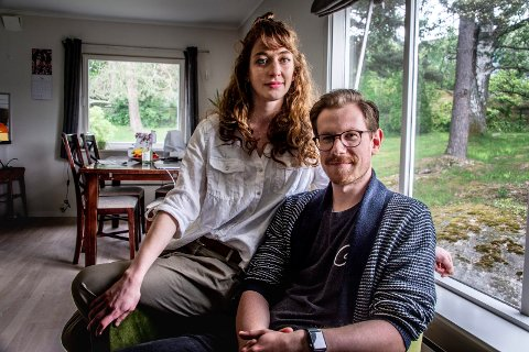 TRØBBEL: Sarah Husøy og Ken Robin Husøy har møtt mye motgang etter at de flyttet til Norge fra Australia.