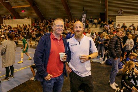 NYTT EUROPA-EVENTYR? Sportslig leder Øistein Pettersen og trener Eirik Haugdal får nye muligheter i Europa til høsten.