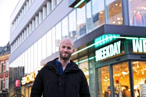 PLANLEGGER: Sander Grundvig vil ikke godta dommen fra Fredrikstad tingrett, men sier at HM uansett flytter ut av bygget i Nygaardsgata. Nå er nye konsepter på vei inn.