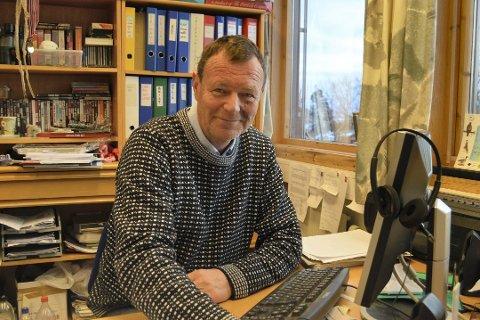 YES!: Jan Christian Häckert reagert med glede da han ble kjent med Sparebankstiftelsen DNBs bevilgning.