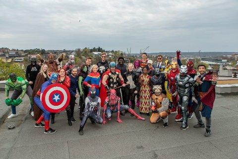 Mest sett: Den siste filmen om  Avengerheltene er mest sett på Fredrikstad kino så langt i 2019, og bidro til å rette opp besøkstallene fra årets første måneder. Cosplayfolket var begeistret etter premièren 24. april.