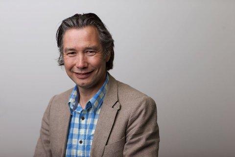 FORNØYD: Ingar Sundholm er styreleder og medeier i Taproom AS, selskapet bak utestedet Tæps.