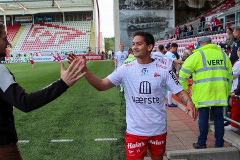 Kjell Rune Sellin ble FFK-spiller i desember 2017 - nå kan ferden gå videre til Strømmen og OBOS-ligaen. Arkivfoto: Harry Johansson