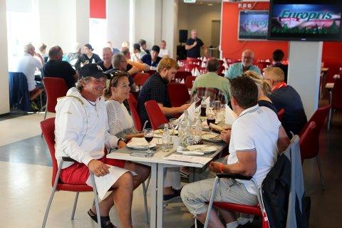 FLERE ARRANGAMENTER: FFK Stadion Event AS serverer middag for VIP-gjestene på Stadion, men gjør også langt flere arrangementer. Det gjorde at selskapet for andre året på rad kunne levere overskudd i fjor.