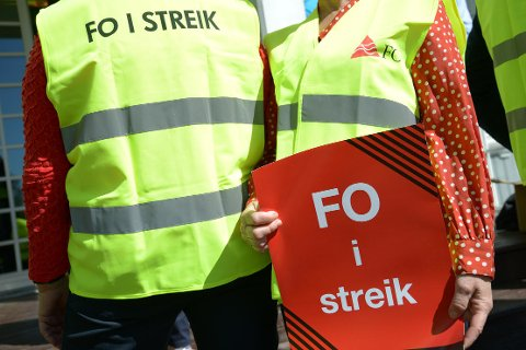FO I streik.