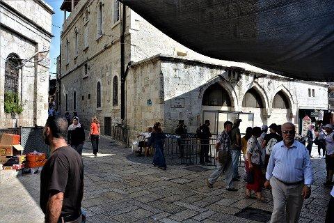 Via Dolorosa, Gamlebyen Jerusalem