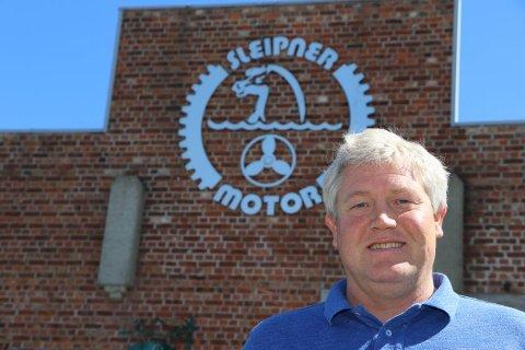 INVESTERER I POLEN: Ronny Skauen i Sleipner Motor AS kunne ikke vente lenger på å få starte byggingen på Gressvik. Nå har selskapet investert i nye lokaler i Polen.