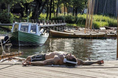 Mulighetene for å få litt sol på kroppen er gode til helga. Meteorolog Per Egil Haga melder at temperaturene kan komme opp i 25 grader i Fredrikstad.