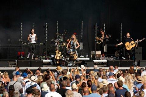 OBOS FLYTTES: Sol Heilo spilte på årets utgave av OBOS på Månen. Når festivalen arrangeres i 2020 droppes søndag som festivaldag - til fordel for onsdag.