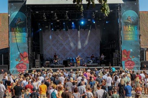 Gamlebyen festivaldrift AS, som blant annet står bak Månefestivalen, kan nå søke midler fra den utvidede stimuleringsordningen til Kulturdepartementet. Her fra fjorårets festival.