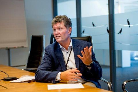 NY RUNDE: Styret i Fredrikstad Energi AS ga administrasjonen og konsernsjef Trond Andersen fullmakt til å håndtere innsynsstriden videre. Fylkesmannen selskapet har hemmeligholdt for mange opplysninger, og opphevet vedtaket om hva det skulle gis innsyn i. Nå kommer saken på nytt til Andersens bord.