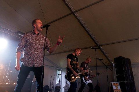 Godt trøkk: Årets Brukenfestival bød på Hr. Smiths Venner, og 610 gjster hygget seg.
