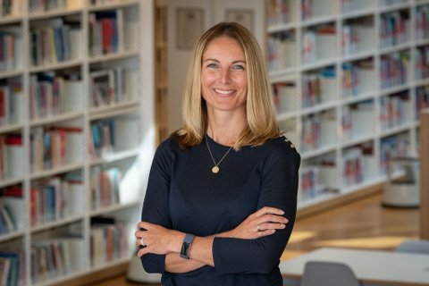Ny prorektor: Annette Veberg Dahl (40) har vært ansatt på høyskolen siden 2011. Nå har hun blitt prorektor.