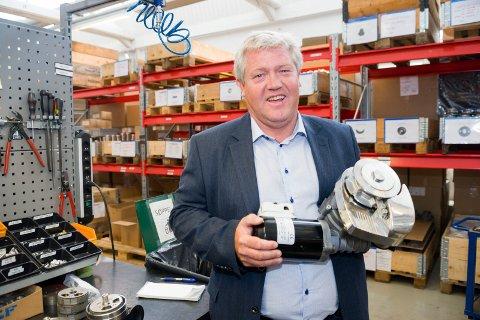 Ronny Skauen, daglig leder ved Sleipner Motor, mangler fremdeles en viktig avklaring før Sleipner kan gå videre med planleggingen av nytt industribygg på Gressvik.