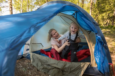 TELTJAKT: Om du vil vinne et nytt telt, bør du ta turen ut i naturen fredag 13. september.