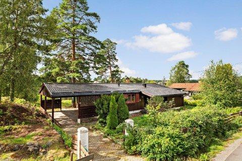SOLGT: Dette huset i Lørenskog ble onsdag solgt for seks millioner over takst.