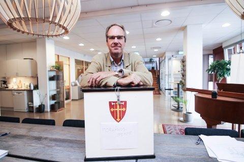 Valggeneral: Jo Edvardsen håper på stor deltagelse ved kirkevalget i Fredrikstad.