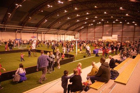 Lørdag: Barneidrettens dag i Østfoldhallen arrangeres førstkommende lørdag.