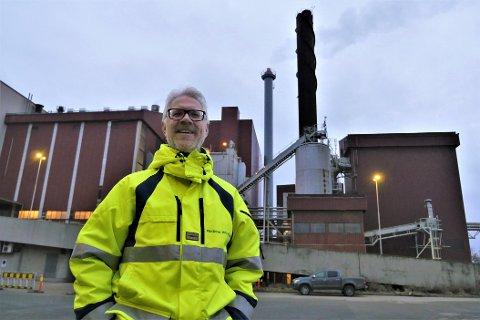 Vil forlenge levetiden for Langøya: Frevar-direktør Fredrik Hellström mener staten bør sørge for at NOAHS anlegg kan ta imot tynnsyre og flygeaske til minst 2030. (Foto: Øivind Lågbu)
