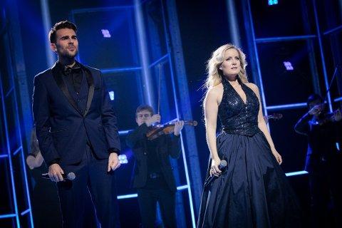 Kim Wigaard og Maria Mohn konkurrerte sammen med låten «Fool for Love» under delfinalen i MGP.