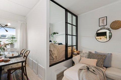 Denne leiligheten er en av byens billigste.