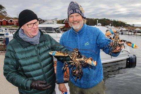 Etter at tv-kjendisen Øyvind Brigg flyttet til Søndre Sandøy i 2015 har han blitt tatt godt imot av lokalbefolkningen. Blant annet postmann og hummerfisker Tommy Andersen (til h.)