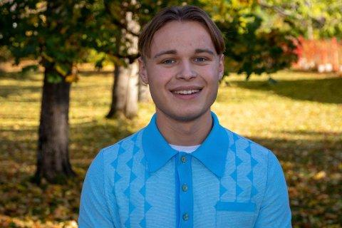 Herman Midtsjø (21) fra Fredrikstad er av nominasjonskomiteen innstilt på 3. plass på KrFs nominasjonsliste for Østfold til neste års stortingsvalg.