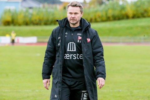 FFK-trener Bjørn Johansen liker dårlig at FFK er et av tre lag i OBOS-ligaen som ikke får trene som normalt.