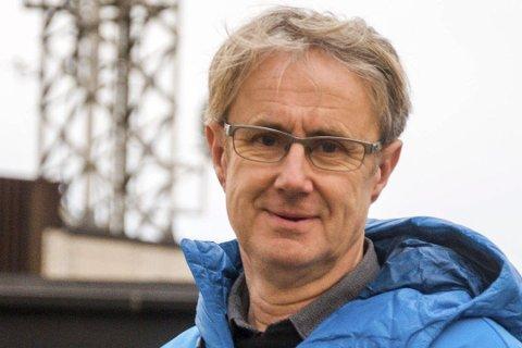 Dekningsdirektør Bjørn Amundsen i Telenor har doblet kapasiteten i Fredrikstad.